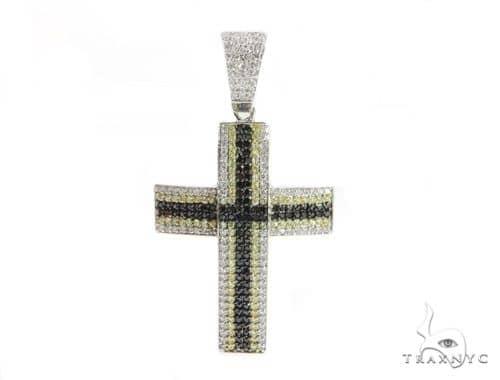 Silver Cross Crucifix 49841 メンズ シルバークロス