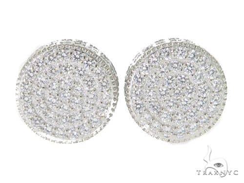 Silver Earrings 49890 Metal