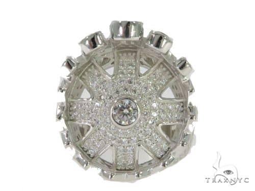 Crown Silver Ring 56413 Metal