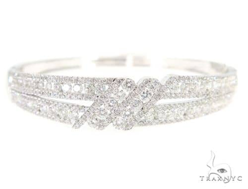 Prong Diamond Bangle Bracelet 56492 Diamond