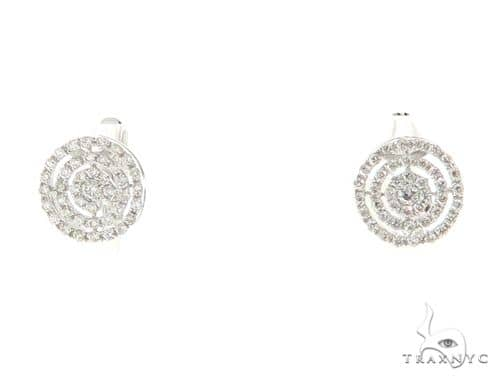 Prong Diamond Earrings 56493 Stone