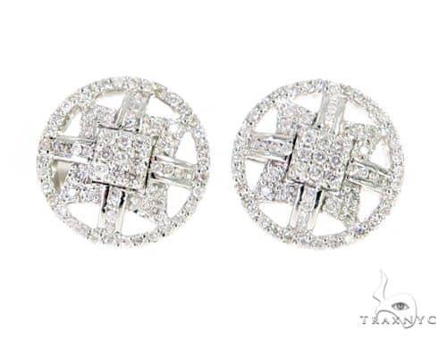 Prong Diamond Earrings 56506 Stone