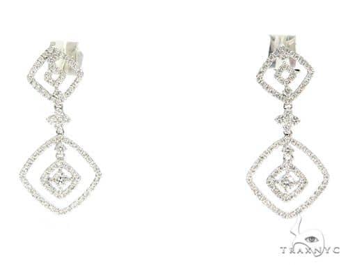 Prong Diamond Chadelier Earrings 56504 Style