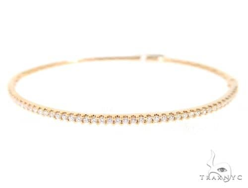 Prong Diamond Bangle Bracelet 56494 Diamond