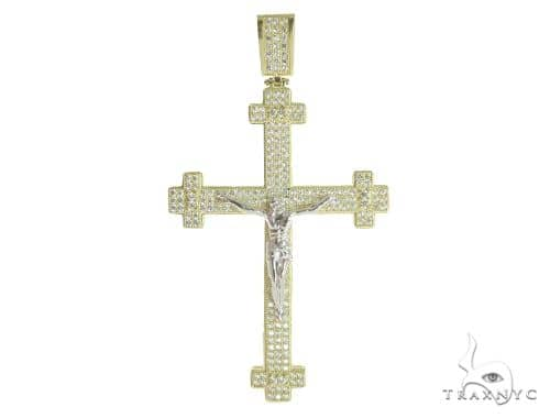 10K Yellow Gold Cross 56653 Gold