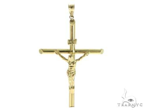 10k Yellow Gold Jesus Cross 56703 Gold