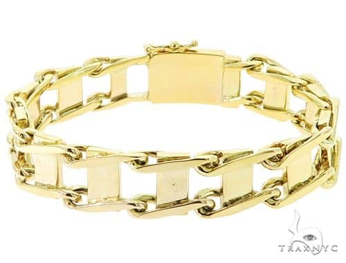 10K Yellow Gold Bracelet 56830 Gold