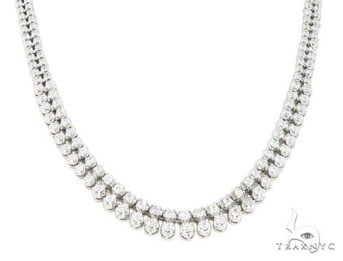 Eventi Diamond 2 Row Necklace 45588 Diamond