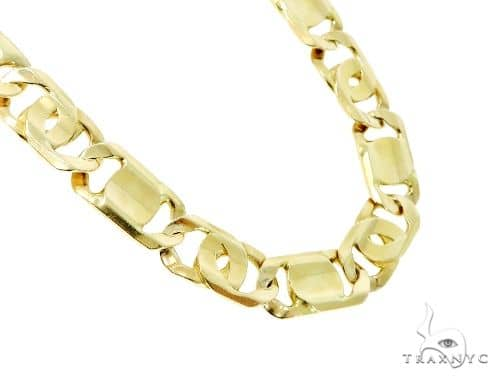10K Gold Tiger Eye Chain 28 Inches 14mm 191.1 Grams 45592 Gold