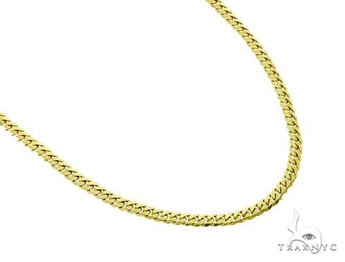 14K Miami Cuban Link Chain 24 Inches 4mm 18.60 Grams 56854 Gold