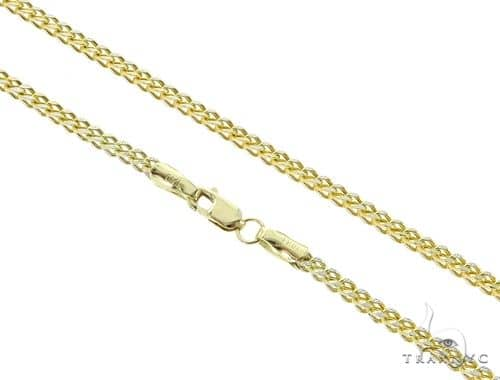 Franco 10K YG Chain 24 Inches 2mm 5.90 Grams 56878 Gold