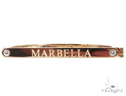 Custom Bezel Set Diamond Bracelet 45612 Diamond