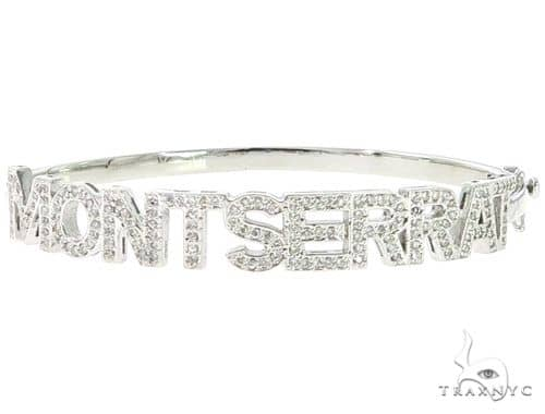 Custom Name Montserrat Diamond Bracelet 45615 Diamond
