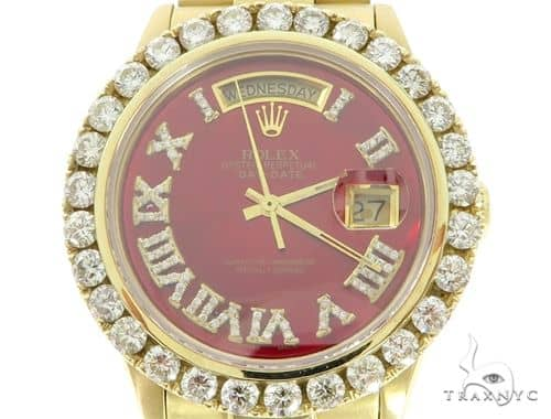 Diamond Day Date Rolex Watch 45617 Diamond Rolex Watch Collection