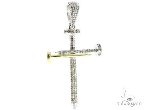 Prong Diamond Nail Cross 56910 Diamond