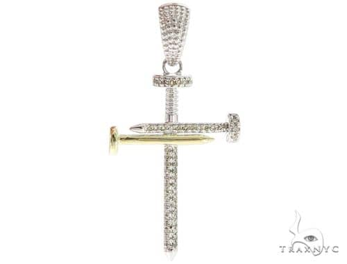 Prong Diamond Nail Cross 56912 Diamond