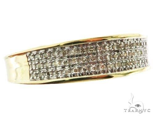 10K Yellow Gold Prong Diamond Band 56950 Stone