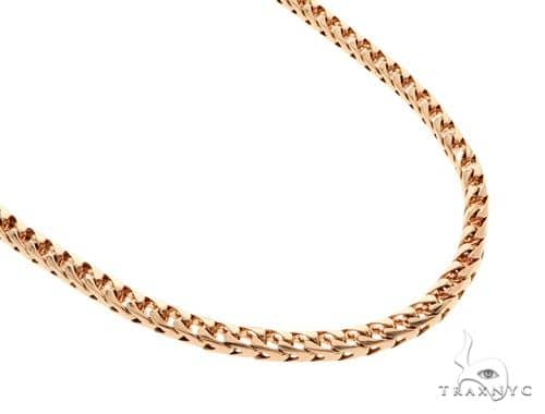14K Rose Gold Franco Chain 32 Inches 5mm 132.20 Grams 57173 Gold