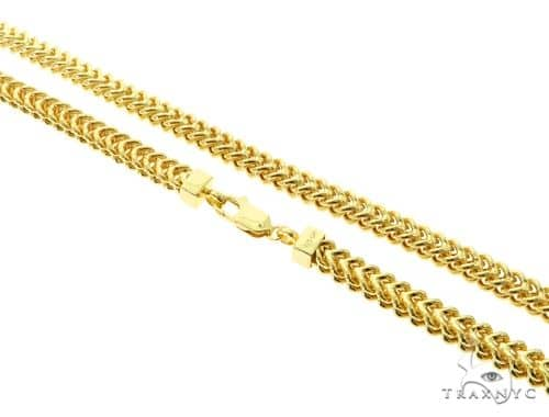 Silver Franco Link Chain 36 Inches 7mm 62.10 Grams 57236 Silver