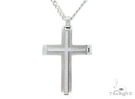 Stainless Steel Cross Chain Set 57589 Stainless Steel