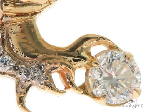 Eagle Diamond Pendant 57658 Metal
