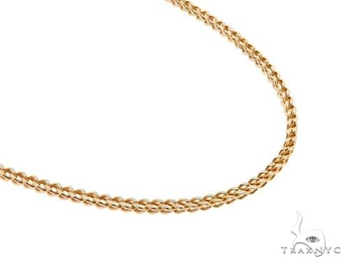 Franco 14K YG Chain 24 Inches 3mm 14.0 Grams 57667 Gold