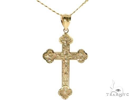 Cross Pendant Chain Set 57729 Gold