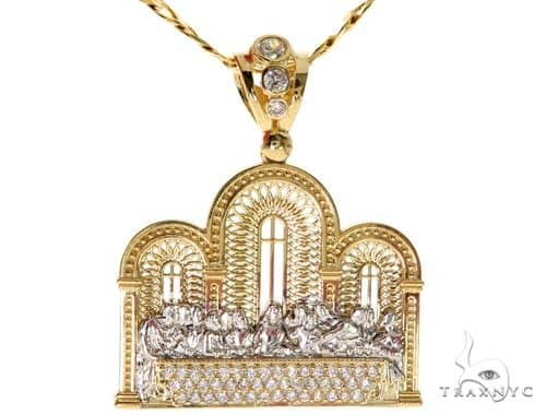 Last Supper Pendant Chain Set 57731 Metal