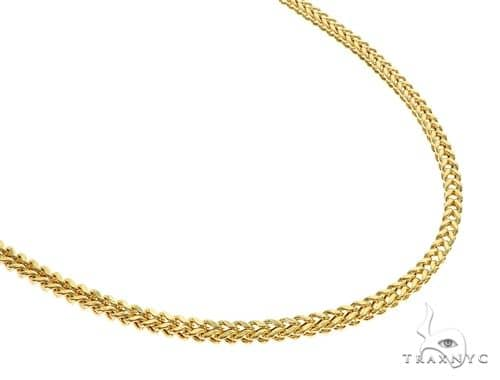 10K YG Franco Chain 20 Inches 3mm 6.80 Grams Gold