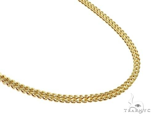 14K YG Franco Chain 20 Inches 4mm 16.30 Grams Gold