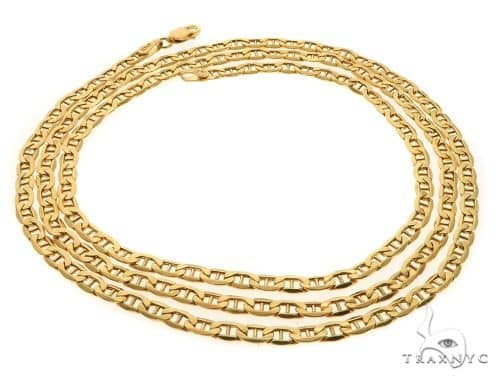 10KY Anchor Chain 26 Inches 3mm 5.2 Grams 58443 Gold