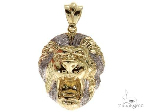 Lion Gold Pendant 49710 Style