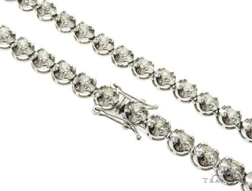 Polar Ice Diamond Chain 32 Inches 8mm 100.4 Grams 58629 Diamond