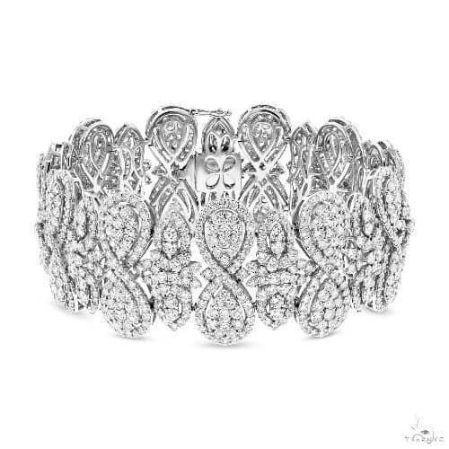 18k White Gold Diamond Bracelet Diamond