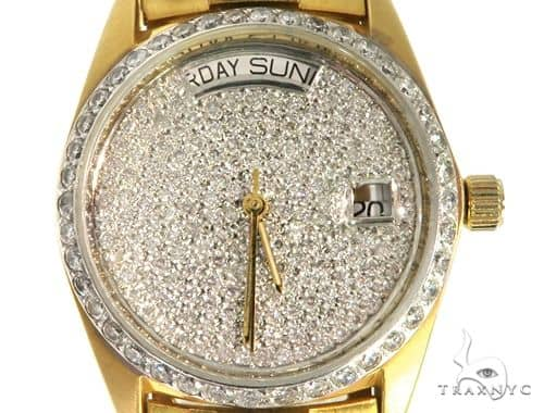 Rolex Style Diamond Watch 61362 Special Watches