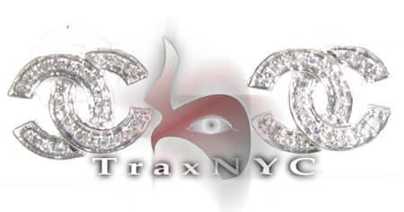 Crossover Earrings 3 Stone