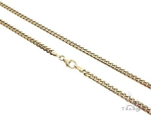 14K Yellow Gold Miami Cuban Link Chain 24 Inches 4mm 28.2 Grams 61488 Gold