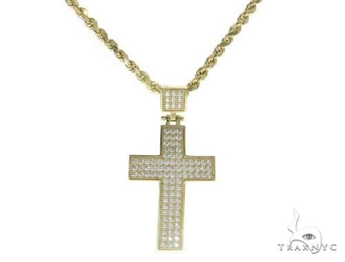 Cross and Rope Chain Set 61548 Style