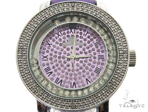 Prong Diamond Purple Super Techno Watch I-5516 43573 Super Techno