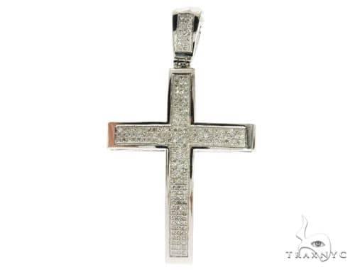Junior Cross Crucifix 4840 メンズ ダイヤモンド クロス