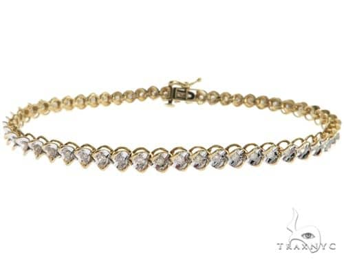 10K Yellow Gold Bracelet 61642 Diamond