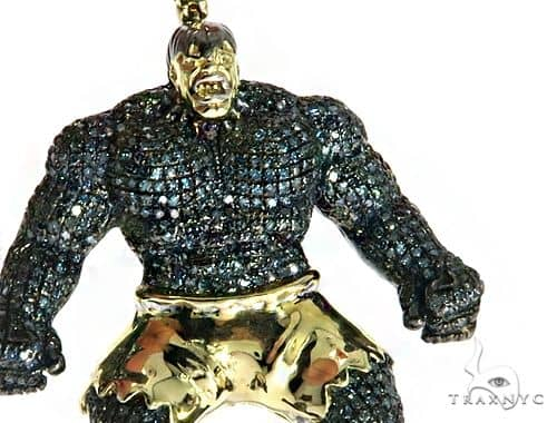 Custom Jewelry Hulk Diamond Pendant 61769 Metal