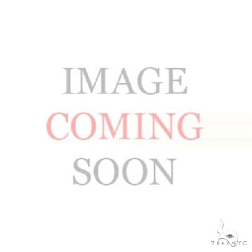 14k Rose Gold Diamond Oval Hoop Earrings Stone