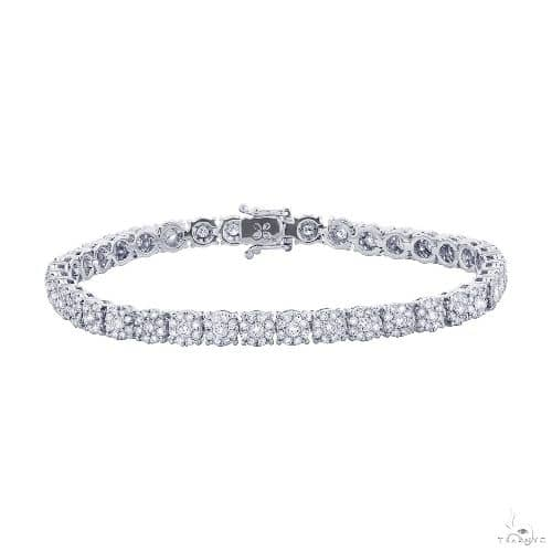 18k White Gold Diamond Ladys Bracelet Diamond