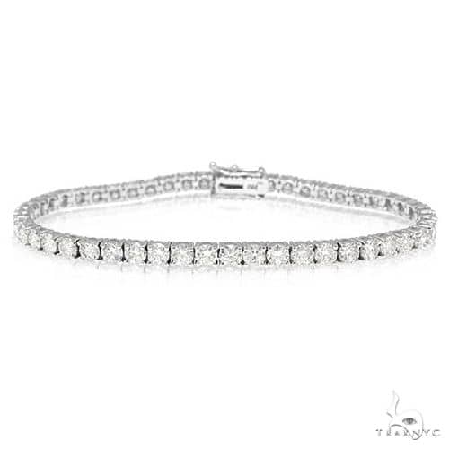 18k White Gold Diamond Tennis Bracelet Diamond