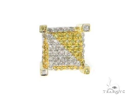 Single Prong Diamond Earring 49236 62565 Stone