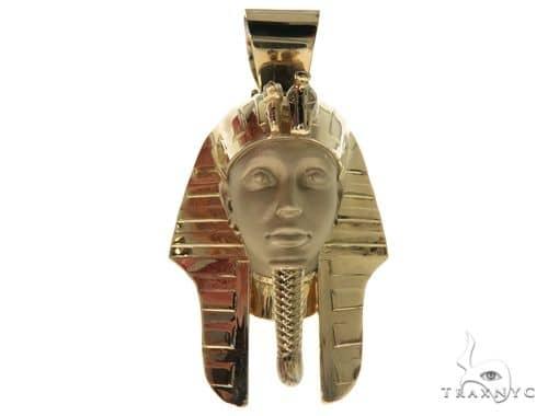 Pharaoh King Tut 10K,14K,18K & 22K Yellow Gold Metal