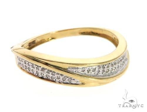 14K Yellow Gold Micro Pave Diamond Ring 63639 Anniversary/Fashion