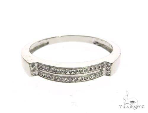 14K White Gold Micro Pave Diamond Ring 63649 Stone