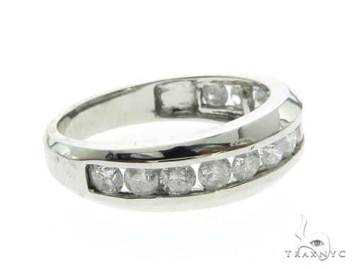 14K White Gold Micro Pave Diamond Ring 63668 Anniversary/Fashion